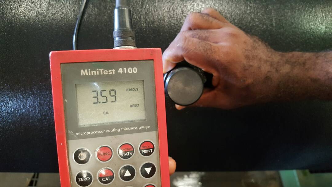 Total Coating Thickness Measurement
