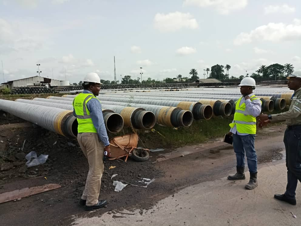 Final Inspection Of CWC Pipes