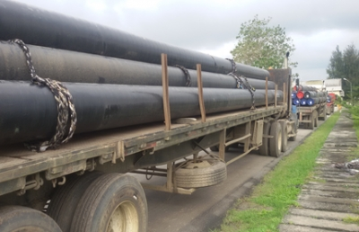 Pipe Haulage