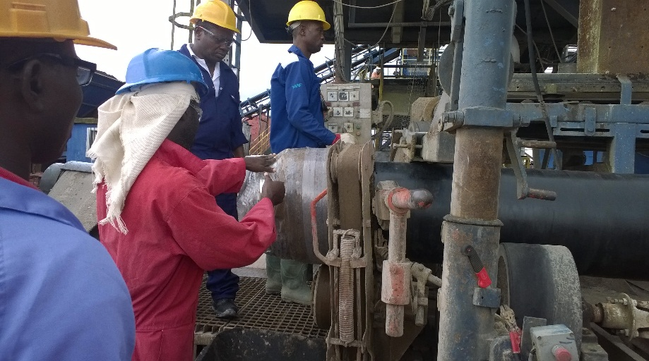 Repairs of mechanically damaged pipes coatings from NPDC yard, Warri